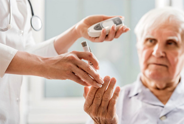 Уход за больными с сахарным диабетом
